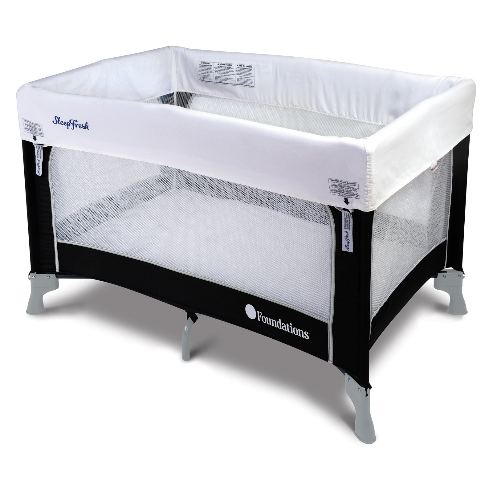 Foundations SleepFresh Celebrity Portable Crib by Foundations