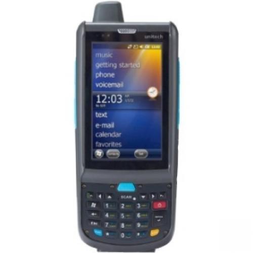 "Unitech Rugged Handheld Computer Texas Instruments ARM 1 GHz 512 MB RAM 512 MB Flash 3.8"" WVGA LCD 26 Keys Numeric... by Unitech"