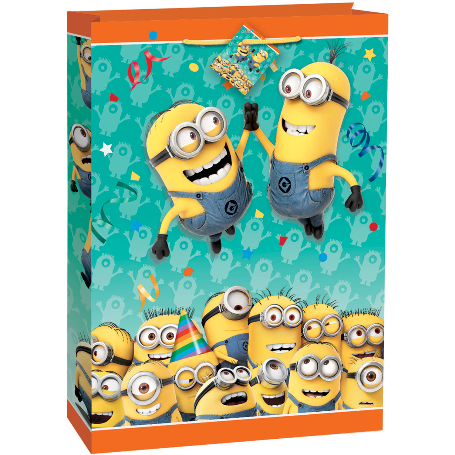 Jumbo Despicable Me Minions Gift Bag