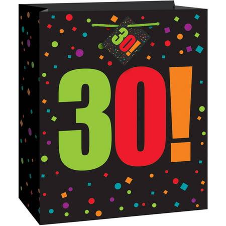 Birthday Cheer 30th Gift Bag