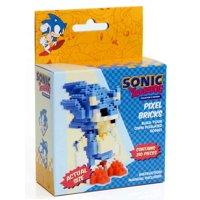 Sonic The Hedgehog Pixel Bricks Sonic Brick Construction Set