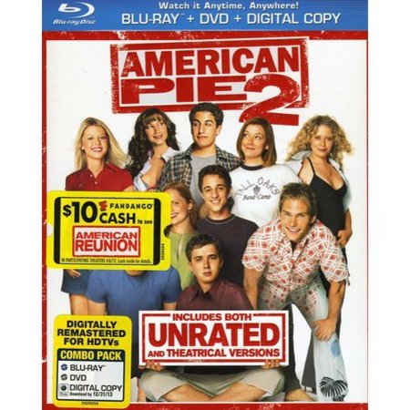 American Pie 2  Rated Unrated   Blu Ray   Dvd   Digital Copy   With Instawatch   Widescreen