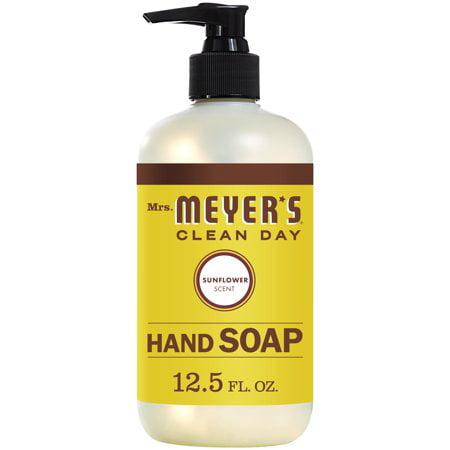 (3 Pack) Mrs. Meyer's Liquid Hand Soap, Sunflower, 12.5 Oz (Micheal Meyers)