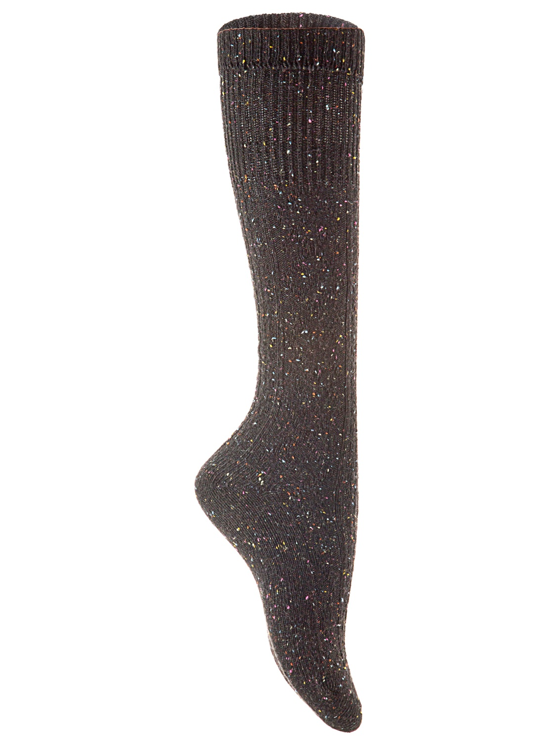 Lian Style Big Girl's 1 Pair Wool Knee-high Crew Socks Size L (Gray)