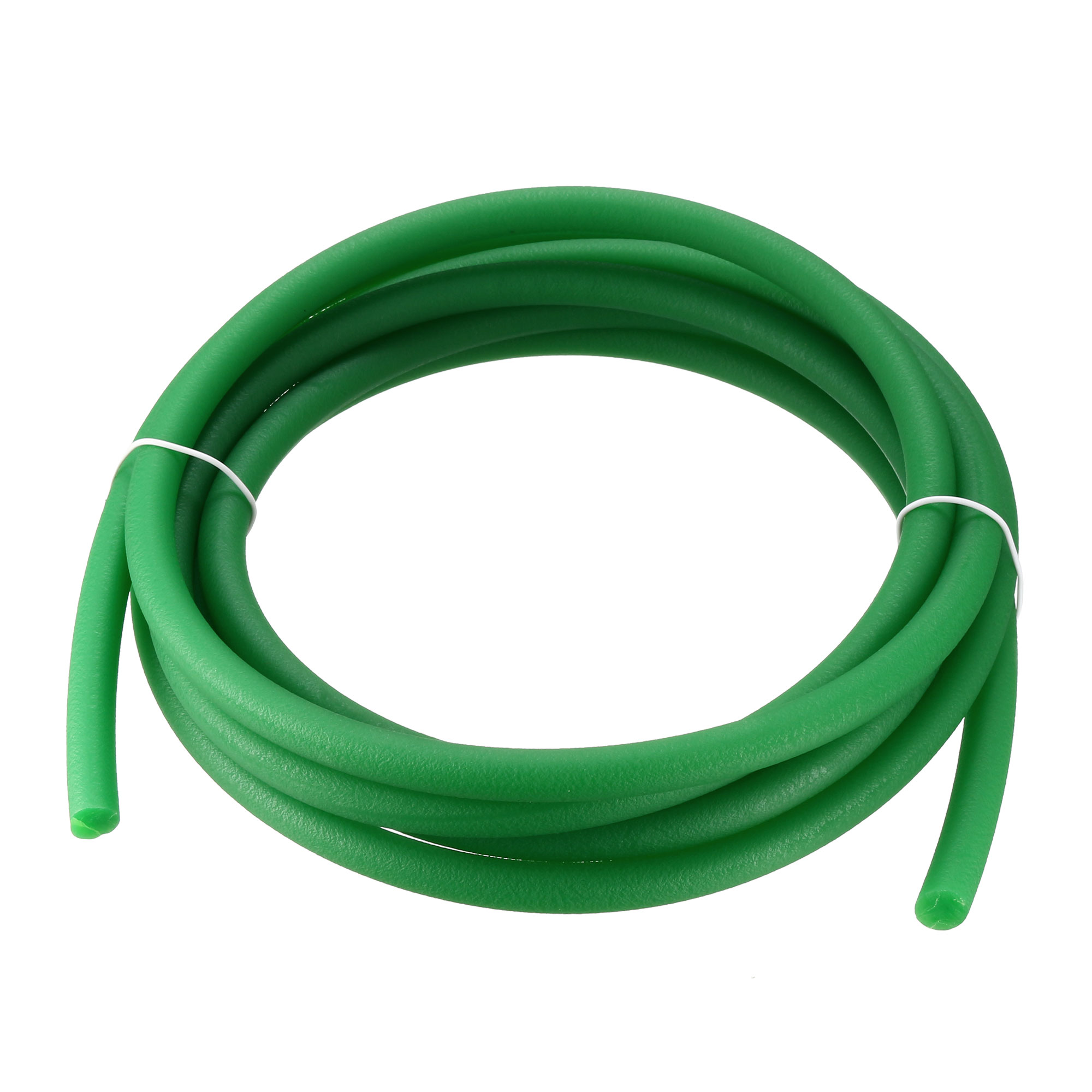 High-Performance Urethane Round Belting,2mm-20m PU Transmission Polyurethane Belt Green Rough Surface for Drive Transmission
