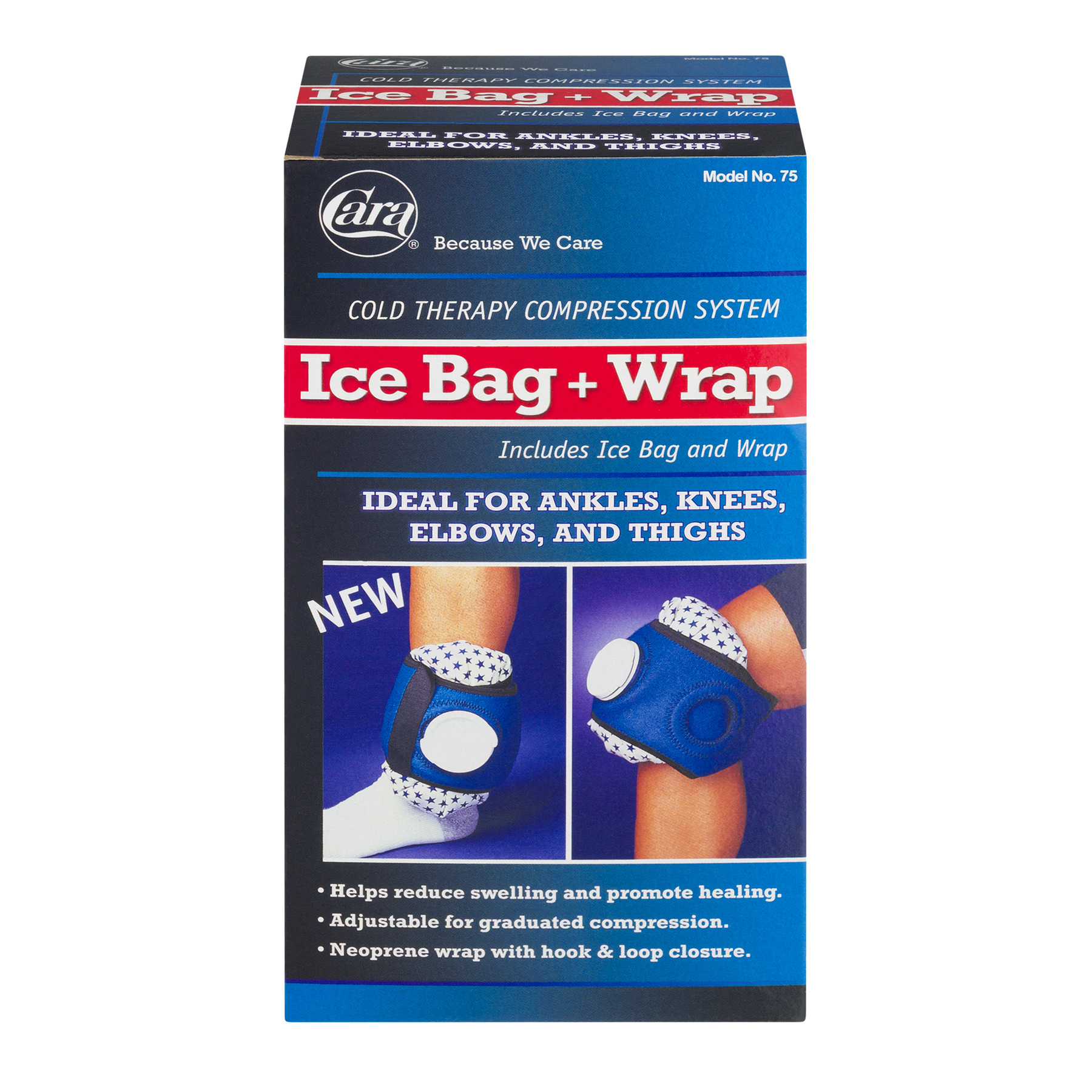 Cara Ice Bag + Wrap, 1.0 CT