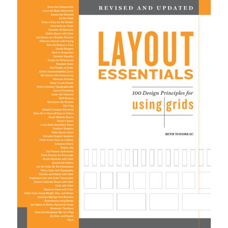 Layout Essentials Revised and Updated : 100 Design Principles for Using Grids