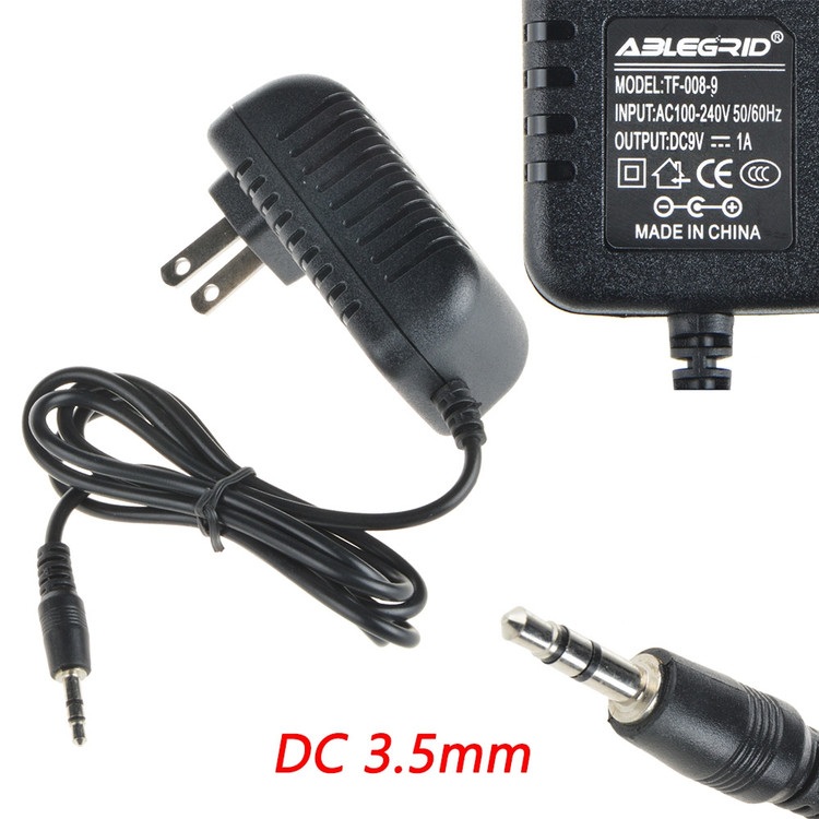 ABLEGRID AC - DC Adapter For Atari 2600 AC Adapter System FOR/POUR/PARA Power Supply Cord Cable PS Charger Input: 100V - 120V AC - 240 VAC 50/60Hz Worldwide Voltage Use Mains PSU