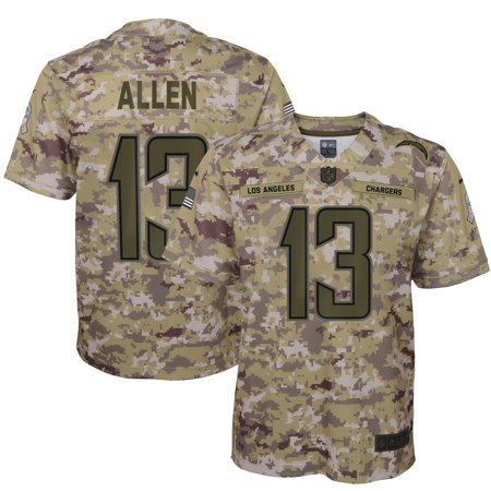 Cw Jersey - Keenan Allen Los Angeles Chargers Nike Youth Salute to Service Game Jersey - Camo