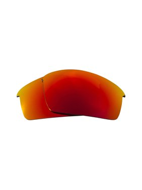 SEEK Replacement Lenses Compatible for Oakley Thump Pro Polarized Red Mirror