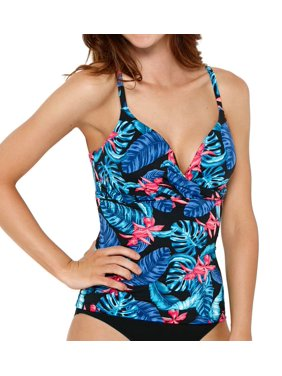 489bfdfa477 Product Image Women s Captiva 33DL3089 Dreamland Beach Push Up Tankini Swim  Top