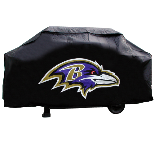 Baltimore Ravens Deluxe Grill Cover