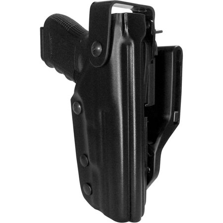 Gould and Goodrich T391-G17 Triple Retention Duty Holster, Fits Glock 17, 22, 31, Black