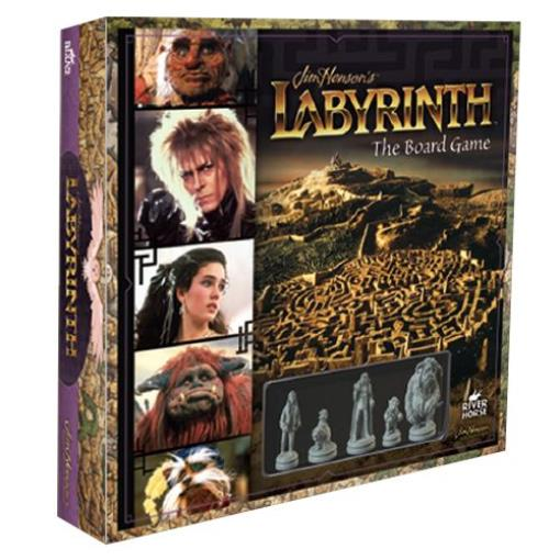 Labyrinth The Board Game New by River Horse