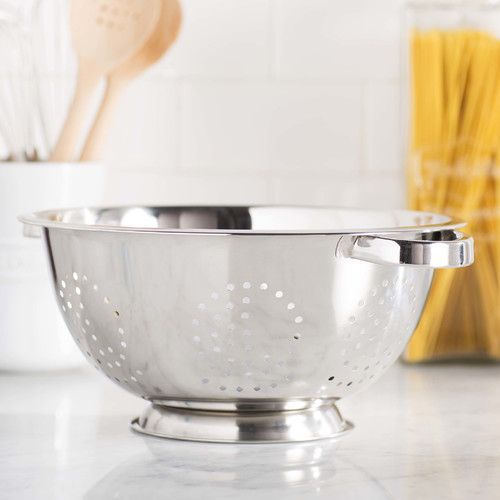Cook Pro Stainless Steel Colander, 5 qt by Generic