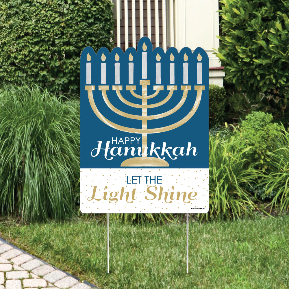 Hanukkah - Party Decorations - Chanukah Welcome Yard Sign