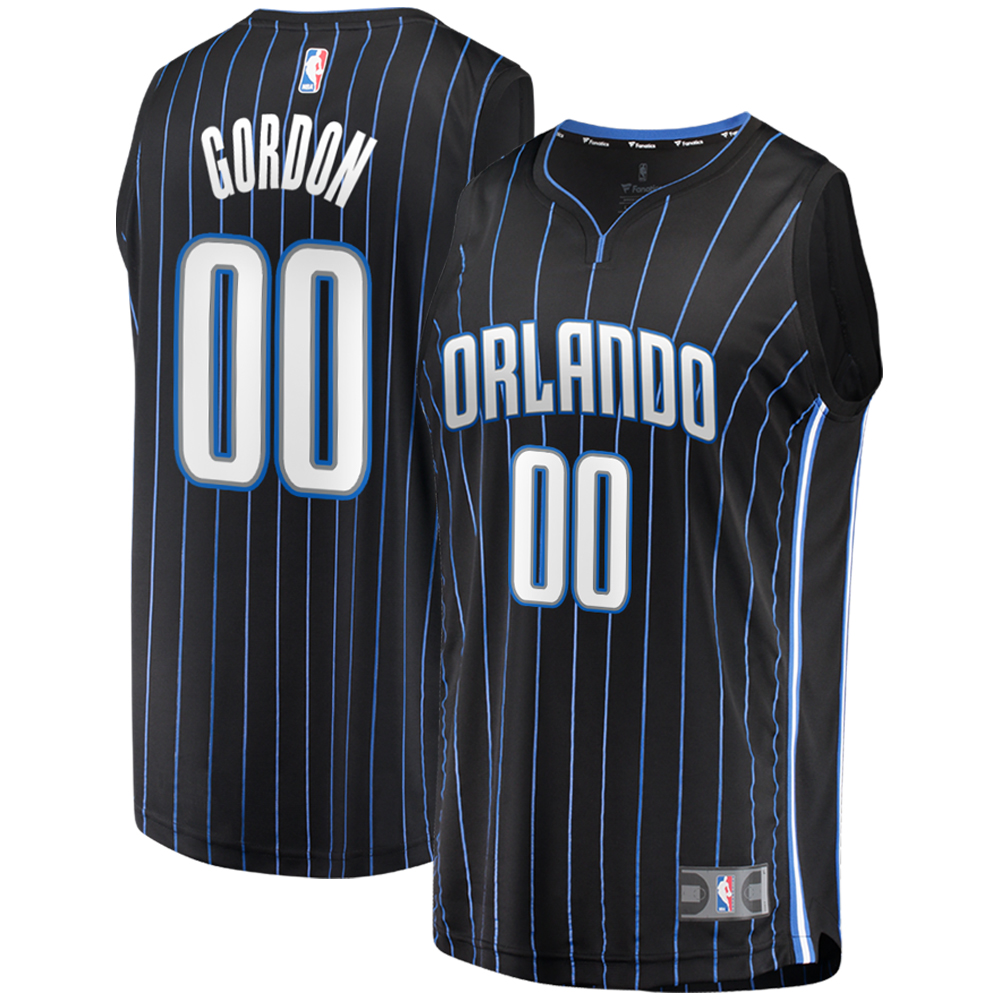 Aaron Gordon Orlando Magic Fanatics Branded Fast Break Replica Player Jersey - Statement Edition - Black