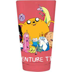 Adventure Time Pint Glass by Classic Import