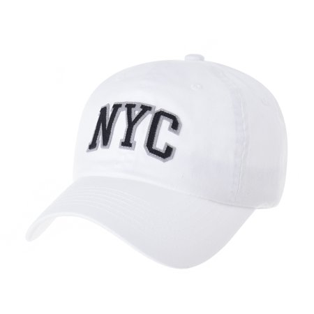 Withmoons Cotton Baseball Cap Simple Ballcap Nyc Embroidery Cr1668