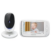 "Motorola Comfort50 - Digital Video Audio Baby Monitor with 5"" Color Screen"