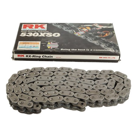 New RK 530XSO Chain 108 Link for Link for Suzuki GSF 1200 Bandit 96-05, GSF  1250 Bandit 07-09, GSF 1250 SA Bandit ABS 16, GSF 600 S Bandit 95-04, GSX