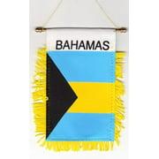 Bahamas - Window Hanging Flag