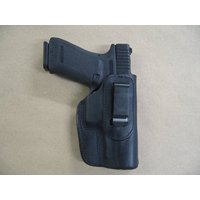 Ruger P85, P89, P95, P93, P94, P90, P345 IWB Leather in Waistband Concealed Carry Holster Black RH