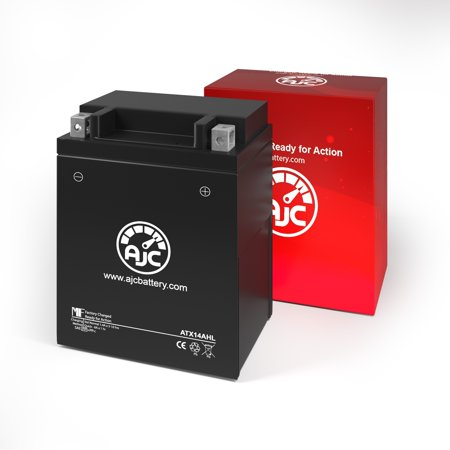 Motocross Desmo 500CC Motorcycle Replacement Battery - This is an AJC Brand Replacement - image 2 of 4