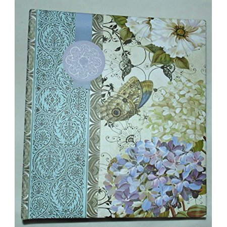 nantucket home hardcover ring binder address book purple blue