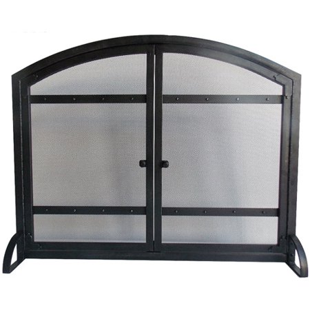 Miraculous Pleasant Hearth Harper Arched Fireplace Screen With Doors Home Interior And Landscaping Ologienasavecom