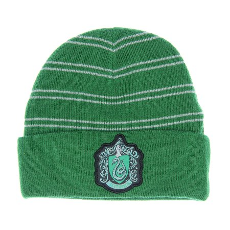 Harry Potter Slytherin House Watchman Cuff Beanie - Walmart.com 15954a0141a