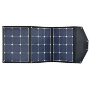 ACOPOWER 105W Sunpower Monocrystalline Foldable Solar Panel Portable Solar Charger With 10A Charge Controller For 12V Battery Charging