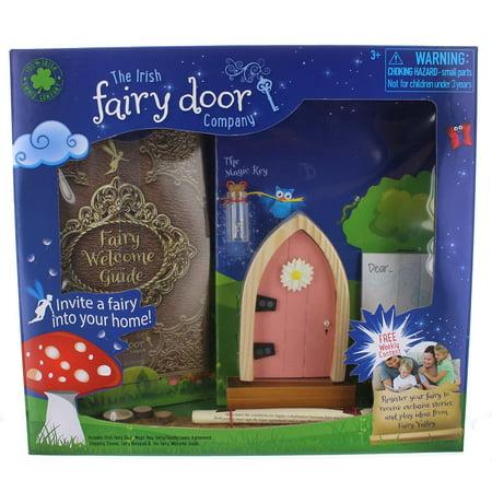 Irish Fairy Door (License 2 Play Irish Fairy Door, Pink)
