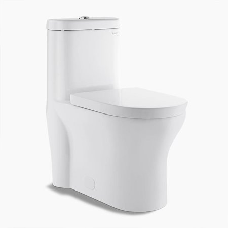 Swiss Madison SM-1T108 Monaco 0.8-1.28 GPF One-Piece Elongated Dual Flush Toilet