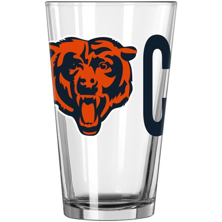 Chicago Bears 16oz. Overtime Pint Glass - No Size ()