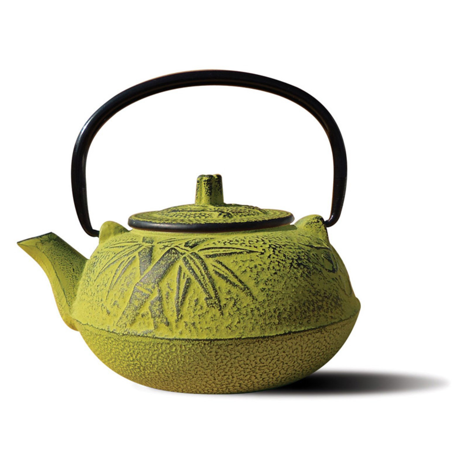 Old Dutch Moss Green Cast Iron Osaka Teapot - 20 oz.