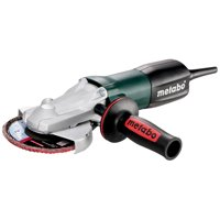 Metabo 4.5-Inch/5-Inch Flat Head Grinder - 8.0 Amp With Lock-On, Electronics