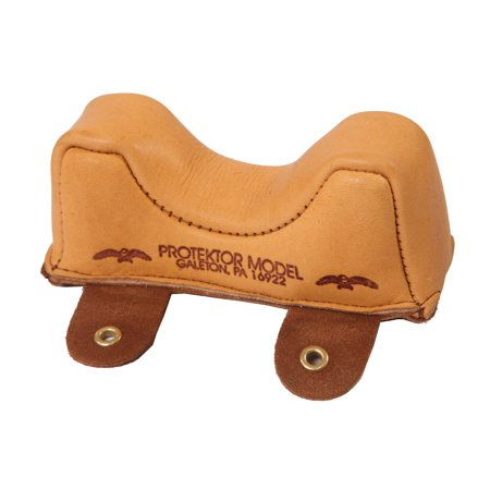 Protektor Model #2F Medium Owl Ear Front Bag Leather Gun Rifle Shooting Rest