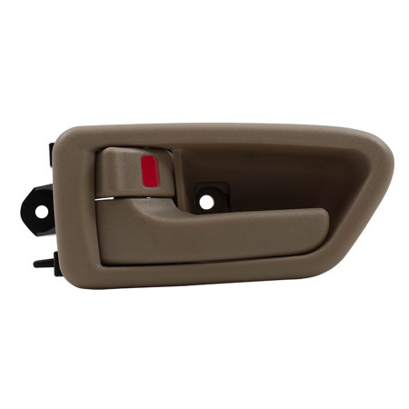 BROCK Inside Interior Door Handle w/ Bezel Beige Driver Front or Rear Replacement for 97-01 Toyota Camry TO1352167