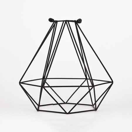 Fantado Geometric Diamond Vintage Edison Light Bulb Cage for Pendant Lights by PaperLanternStore (Cage