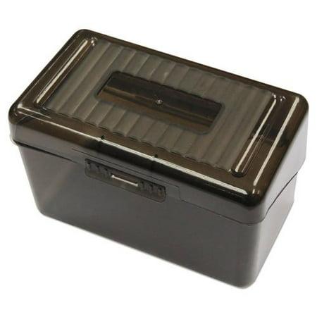 Plastic Index Card Boxes, 3