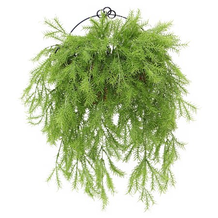 "20"" Artificial Pine Branch Wall Basket"