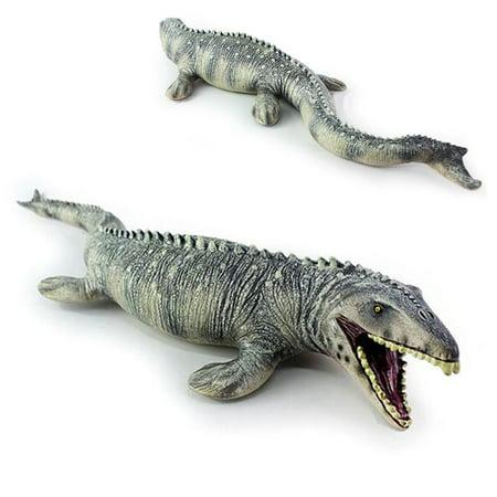 Life-like Shape Animal Mosasaurus Dinosaur Model Cretaceous Period Toy Kids