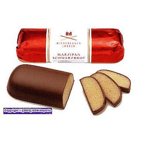 Niederegger Chocolate Covered Marzipan Loaves (Small Marzipan)