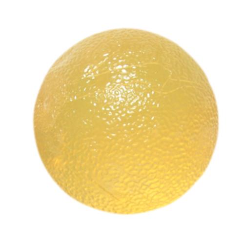 Cando gel ball hand exerciser, standard circular, yellow 2x-light part no. 101491 (1/ea)
