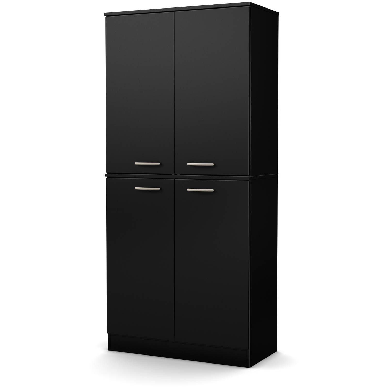 South Shore Smart Basics 4 Door Armoire, Multiple Finishes