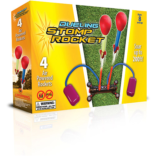 Stomp Rocket Dueling, 4 Rockets by D&L Company