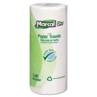 "Perforated Kitchen Towels, White, 2-Ply, 9""x11"", 85 Sheets/roll, 30 Rolls/carton"