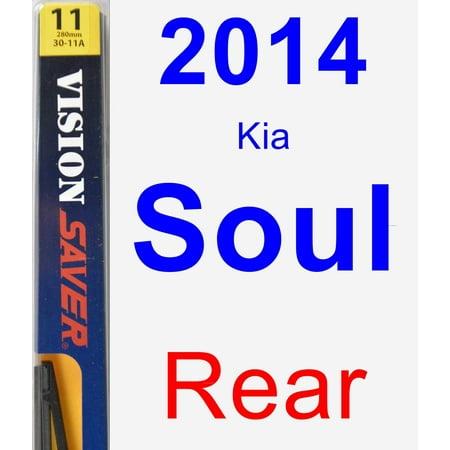 2014 Kia Soul Rear Wiper Blade - Rear