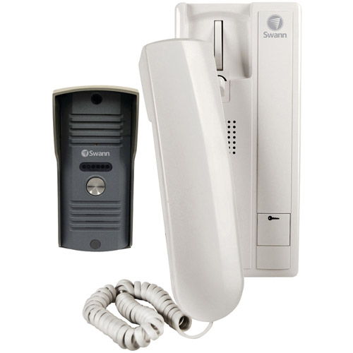 Swann SWHOM-DP850A-US Audio Door Phone Intercom with Phone Handset
